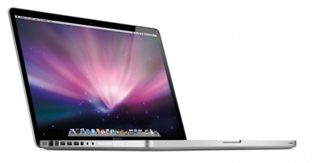 macbook pro 17 unibody 450x235   Macworld 2009   unibody Macbook Pro 17""