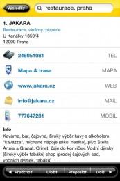 zlate stranky iphone aplikace 3 173x260   Zlaté stránky   telefonní seznam v kapse