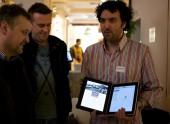 Petr Mára testuje tablet Microsoft Courier