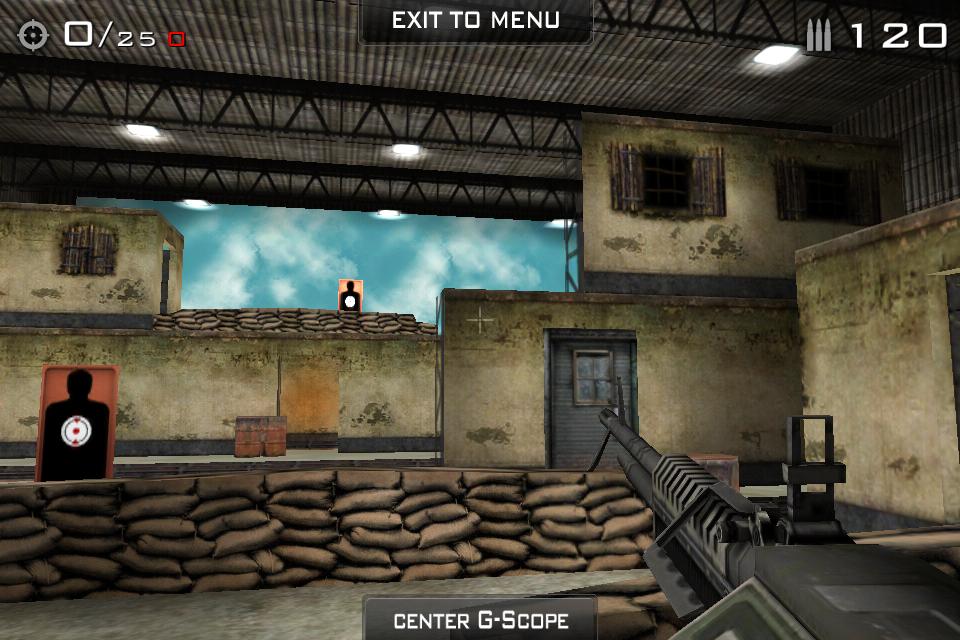 Eliminate GunRange – první hra využívající gyroskop v iPhone 4