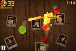Fruit Ninja 11 260x173   5 nejnávykovějších her v historii iPhone