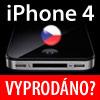 Aktuální dostupnost iPhone 4 v ČR