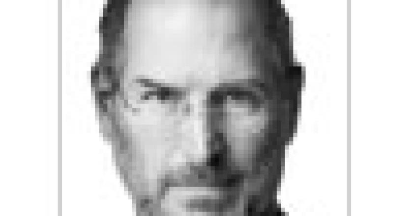 Steve Jobs, životopis, obálka českého vydání, icon