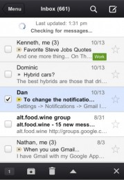 Gmail pro iPhone