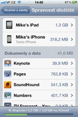 iCloud backup 01 266x400   Jak spravovat zálohy na iCloudu