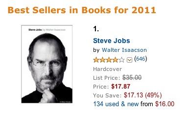 jobs amazon best seller   Jablečný týden #48
