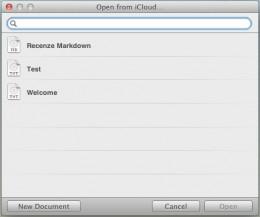 markdown mac 3 260x217   Šikovný textový editor Byword pro Mac i iOS