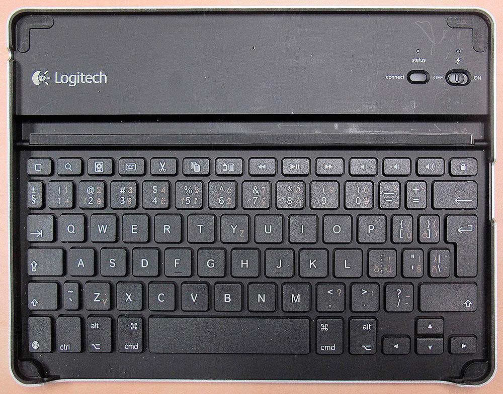 Logitech Keyboard Case CZ, foto (c) Petr Jandík
