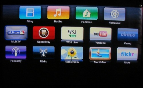Apple TV User Interface 500x310   Recenze Apple TV 3. generace