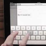 Funkční koncept, jak vylepšit editaci textu na iPadu