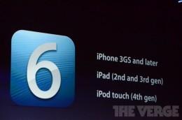 apple wwdc 2012  1117 260x172   iOS 6 přináší řadu novinek. Mimo jiné nové mapy