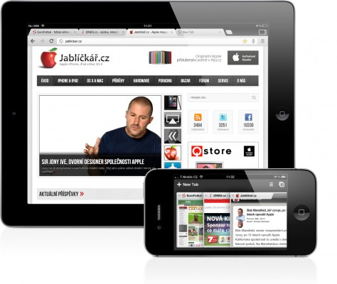 chrome ipad iphone 474x400   Recenze Google Chrome pro iOS