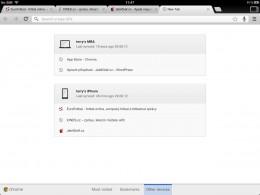 chrome ipad 01 260x195   Recenze Google Chrome pro iOS