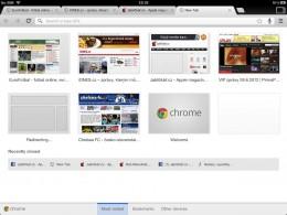 chrome ipad 04 260x195   Recenze Google Chrome pro iOS