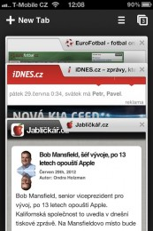 chrome iphone 01 173x260   Recenze Google Chrome pro iOS