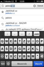 chrome iphone 03 173x260   Recenze Google Chrome pro iOS
