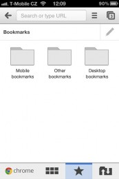 chrome iphone 04 173x260   Recenze Google Chrome pro iOS