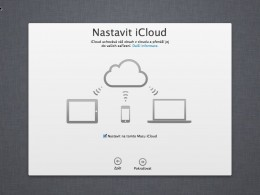 07 mountain lion cista instalace icloud 260x195   Jak na čistou instalaci OS X Mountain Lion