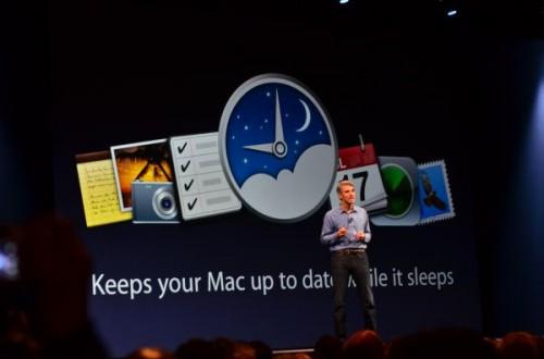 power nap keynote 500x330   Nová funkce Power Nap je již dostupná pro MacBooky Air