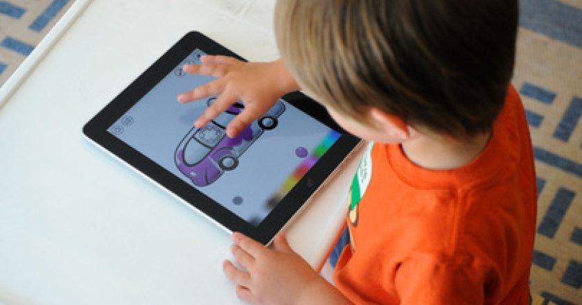 kids děti iPad