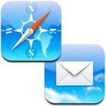 Rychlý přístup ke konceptům v Mailu a naposledy zavřeným stránkám