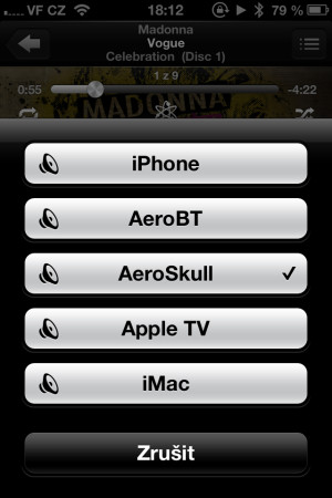 AirPlay na iPhone