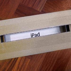 iPad in the box