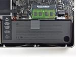 Výměna baterie – MacBook Pro 15″ mid 2010