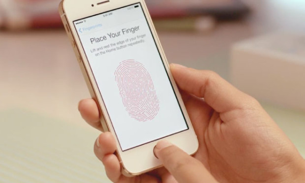 iPhone 5s touch ID