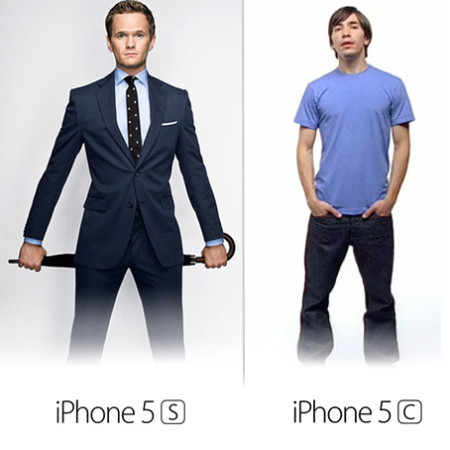iPhone 5s vs iPhone 5c human