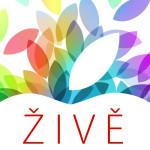 Pozvánka na živý přepis z představení iPadů