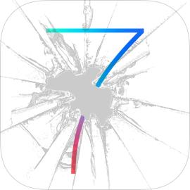 iOS 7 broken icon