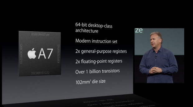 Phil Schiller iPhone 5s A7 64-bit 2013