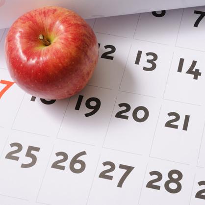 Apple kalendář