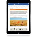 Tim Cook přivítal Office pro iPad, Apple z něj bude mít tradiční provizi