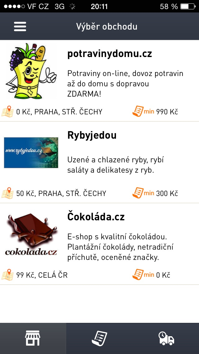 1c15374c2ec Nákup jedna dvě - nakupujte pomocí svého iPhonu
