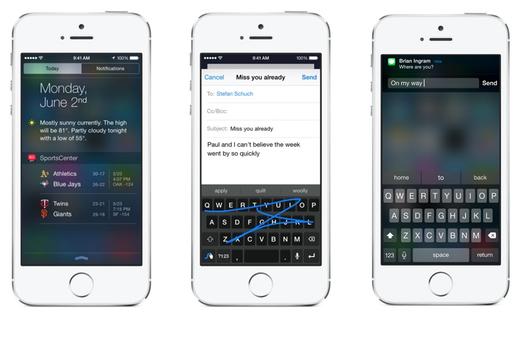 Jak iOS 8 mění způsob používání aplikací a náš pohled na ně
