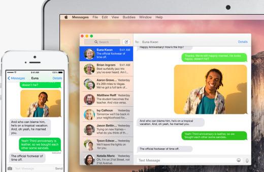 Apple vydal iOS 8.1. Přináší SMS Relay, Instant Hotspot, iCloud Photo Library a další