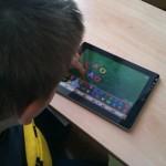 iPad v 1. třídě – září