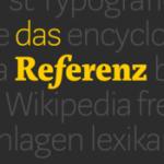 Das Referenz – Wikipedia s elegancí tištěné encyklopedie