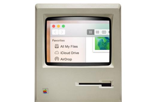 Třicet let rozdílu: Jak by vypadal OS X Yosemite na originálním Macintoshi