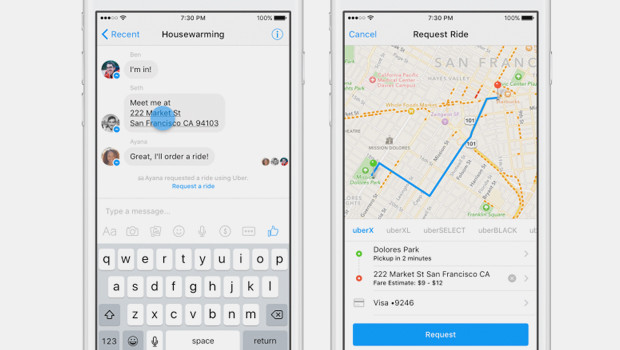 Facebook-Messenger-Uber